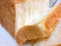 覚書 もっちりしっとり生クリーム角食パンの画像 Bread Recipes, Baking Recipes, No Bake Desserts, Dessert Recipes, Japanese Bread, Cooking Bread, Sweet Buns, Kirara, Cafe Food