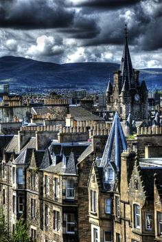 Old Town - Edinburgh, Scotland
