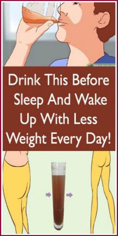 health fitness - Drink This Before Sleep And Wake Up With Less Weight Every Day! Weight Loss Meals, Weight Loss Drinks, Best Weight Loss, Weight Loss Tips, Weight Gain, Losing Weight, Weight Control, Loose Weight, How To Lose Weight Fast
