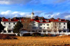 """Stanley Hotel, Estes Park, Colorado -- experiences there inspired Steven King to write """"The Shining"""" ...... We stayed 3 nights... no ghost activity. Boo."""