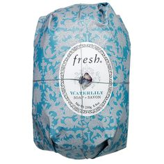 Shop Fresh& Waterlily Soap at Sephora. This non-drying, triple-milled soap is infused with a sheer floral scent. Sephora, Hand Wrap, Water Lilies, Skin So Soft, Bar Soap, Shower Gel, Body Wash, Printed Cotton, Health And Beauty