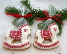 karácsonyi mézeskalács lovacska  Sorszám: 1023