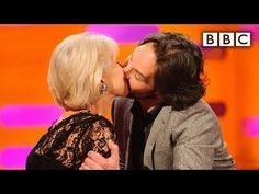 Paul Rudd kisses Dame Helen Mirren | The Graham Norton Show - BBC - YouTube Norton Show, Dame Helen, Bbc Two, Paul Rudd, Star Track, British Comedy, Helen Mirren, Channing Tatum, Jennifer Lawrence