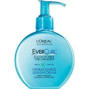 L'Oreal Paris EverCurl Sulfate Free Hydracharge Leave-In Cream