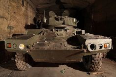 Abandoned expansive underground bunker discovery reveals military equipment going back to WWII and the Cold War! Read Article here: http://defensetech.org/2012/04/25/ffffound-underground/