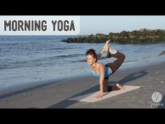 This fast-paced morning Yogea sequence is especially designed to warm up the entire body stretching the ligaments and tendons lubricating the joints toning the muscles and massaging the organs. The poses are intentionally held shorter so that a sense of flow is generated and the body receives a total boost. The practice starts with a couple of Qi-Gong exercises to anchor into the center and warm up the hamstrings shoulders and back. Modified Sun Salutes alternating between externally rotated…
