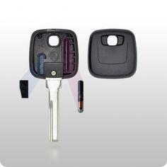 Volvo Transponder Key SHELL - HU56 Style