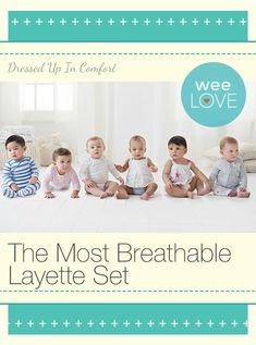 @aden + anais layette collection is super comfy and breathable in any season. Plus, it gets softer with each wash. Sizes range from newborn to 12 months.
