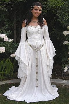 Gwendolyn Jewelry Medieval Set Belt Bodice by RomanticThreads, $295.00