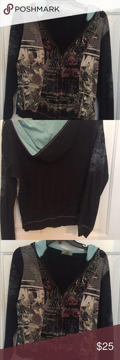 Cotton jacket Fun Tops Sweatshirts & Hoodies