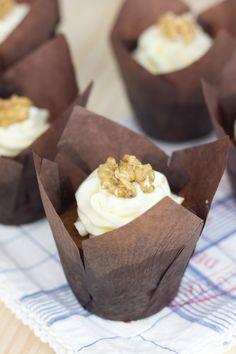 Objetivo: Cupcake Perfecto.: Carrot Cake Muffins (Muffins de tarta de zanahoria)