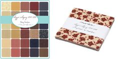 Moda Fabric Lizzies Legacy Charm Pack