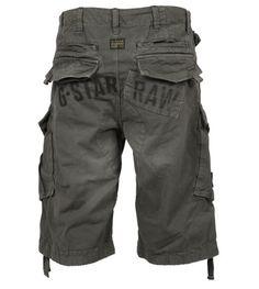 "G-Star Raw Jungen Rovic Art Lose 1/2 Cargo Shorts Raw Grau 26 ""Taille: Amazon.de: Bekleidung"