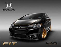Honda Jazz Modified, Modified Cars, New Honda, Honda Fit, Honda Cars, Japanese Cars, Car Decals, Toys For Boys, Fitness Fashion