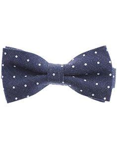 FLATSEVEN Herren Fliege Weißen Gepunktet Krawatte Pre-Tied Denim Bow Tie (YB008) DunkelBlau FLATSEVEN http://www.amazon.de/FLATSEVEN-Herren-Pre-Tied-Krawatte-HellBlau/dp/B00LAZEN7U