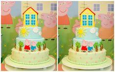 Resultado de imagem para bolo Peppa