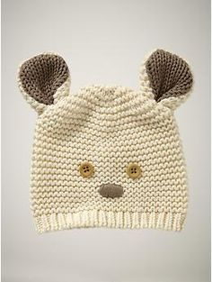 favorite bear hat  french vanilla  up to 7lbs
