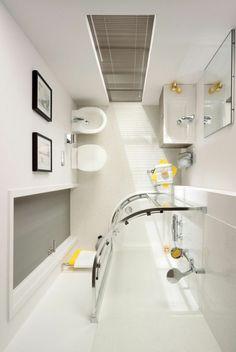kleines bad ideen duschkabine badezimmer möbel praktisch kompakt