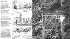Board de bocetos-filosofía de la propuesta http://www.ingepaisajes.com/album/parque_castrelo