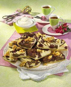Unser beliebtes Rezept für Marmor-Käsekuchen mit Kirschen und mehr als 55.000 weitere kostenlose Rezepte auf LECKER.de.