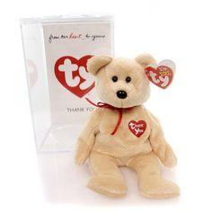 Plush Thank You Bear Beanie Baby Plush