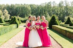 A pink garden party wedding in Norfolk | weddingsite.co.uk