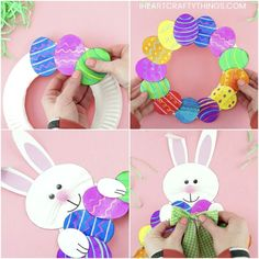easter crafts for kids - easter crafts . easter crafts for kids . easter crafts for toddlers . easter crafts for adults . easter crafts for kids christian . easter crafts for kids toddlers . easter crafts to sell Easter Arts And Crafts, Easter Projects, Bunny Crafts, Spring Crafts, Holiday Crafts, Paper Easter Crafts, Art Projects, Paper Plate Crafts For Kids, Unicorn Crafts
