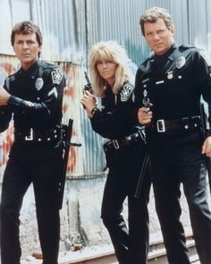 T. J. Hooker is an American police drama television program starring William Shatner in the title role The supporting cast includes Adrian Zmed as rookie Officer Vince Romano, Heather Locklear as rookie Officer Stacy Sheridan (season 2 onwards), and Richard Herd as Captain Dennis Sheridan  March 13, 1982 – May 28, 1986