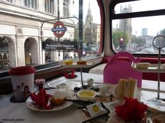 File This For Your Next Trip to London: Take Afternoon Tea On a Vintage Routemaster London Bus As it Tours London