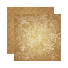 Reminisce - A Christmas Story Collection - 12 x 12 Double Sided Paper - Twilight Snowflake at Scrapbook.com