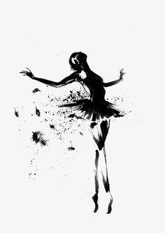 grafika ballet, ballerina, and dance Ballerina Kunst, Ballerina Sketch, Ballerina Painting, Art Ballet, Ballet Girls, Dance Ballet, Ballet Drawings, Art Drawings, Ballerina Tattoo