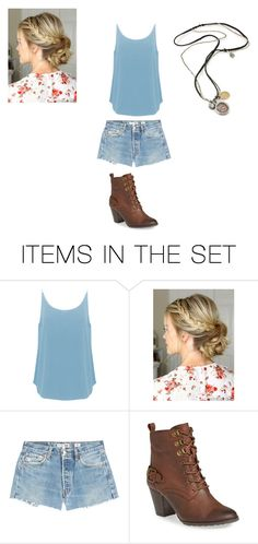 """""""Anna in the Modern Day"""" by thaliaredwood ❤ liked on Polyvore featuring art and modern"""