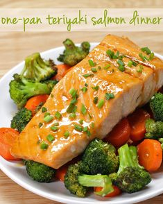 One-Pan Teriyaki Salmon Dinner