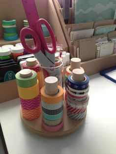 Washi Tape organisateur carrousel de Washi Tape 7 par pindinc
