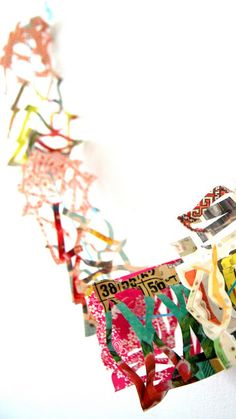 ingthings: how to  paper garland