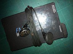 radio tarjeta antigua