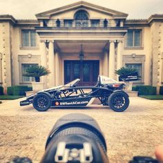 Gorgeous house and a gorgeous car! Lucky for some - Ariel Atom