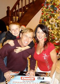 Galleries \ Bart Conner and Nadia Comaneci with their son Dylan!