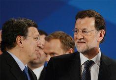 """Barroso pide a Rajoy y Cameron """"sentido común"""" en el conflicto de Gibraltar"""