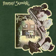 """""""Silver Pistol"""" (1972, United Artists) by Brinsley Schwarz.  Their third LP."""