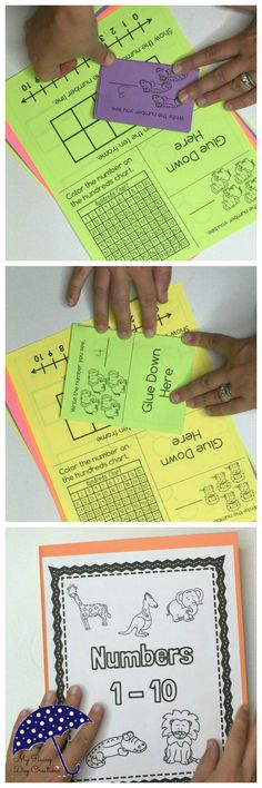 $5 All about numbers. How to show them on each model and how to break them apart.