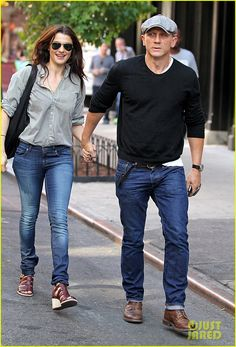 Daniel Craig & Rachel Weisz: Very cool couple.