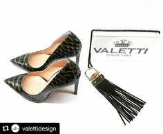 #Repost @valettidesign ・・・ Let's take the best of Italian traditions of shoemaking, mix it with urban chic and feminine glamour, add essence of bamboo & leather fringes, and dress it with crocco green! Here it comes - our new bestseller, Amelia stilettos💚💥💚☀️💚 #Valetti #stilettos #ValettiDesign #shoes #green #glamour #madeinitaly #musthave #autumn #trend #instashoes #instalove #dolcevita #shoegram #shoelover #heels #iloveshoes #mood #inspiration #love #moda #итальянскаяобувь #туфельки…
