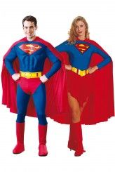 Fabuleux déguisement de couple superman et supergirl en vente ici  http://www.deguisement-magic.com/catalogsearch/result/?q=superman