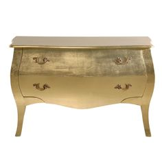 Glamour Girl Gold Chest of Drawers  |  Drawers & Cabinets  |  Storage  |  French Bedroom Company