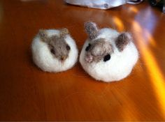 ハンドメイド:羊毛フェルト