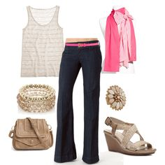 Casual Trouser Jeans for Spring, created by distantlover.polyvore.com
