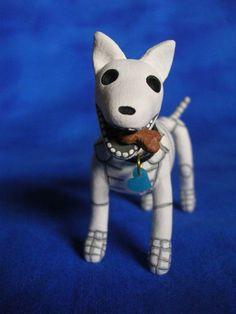 Day of the Dead Skeleton Dog Altar Art Sculpture Halloween, via Etsy.