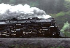 Norfolk & Western in the rain near Ada, West Virginia. Ron Flanery Photos.
