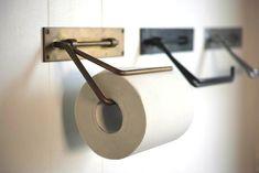 Rakuten Chiba Kousakusho PAPER HOLDER Interior toilet paper holder [brass / iron / stainless steel / simple / Chiba Kousakusho] Giff easy packaging _]: MERCATO